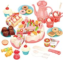 DIY 82PCS Pretend Play Food Cake Discount Applied in Price D