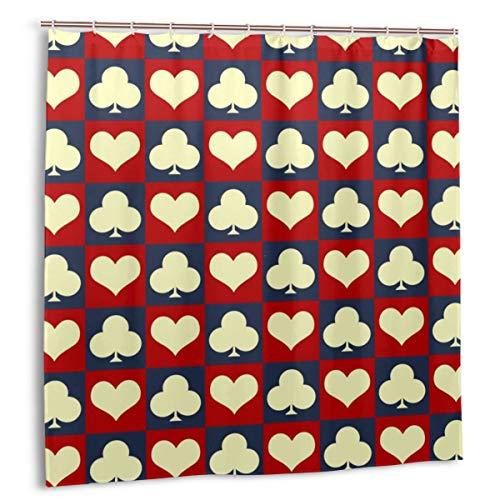 kThrones Cortina de baño,Impermeable,Trajes USA Color Style,Cortina de Ducha de con Ganchos 150cmx180cm