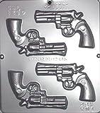 Miscellaneous Gun Revolver Chocolate Candy Mold 1250