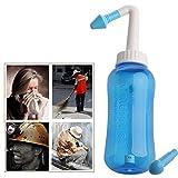 CattleBie Nose Wash Sistema de Senos alergias Relief Nasal Presión Rinse Neti Pot (Color : Multi-Colored)