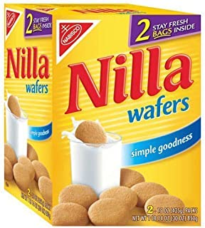 Nabisco Nilla Wafers 30 oz - Two 15 oz pck box(Pack of 2)