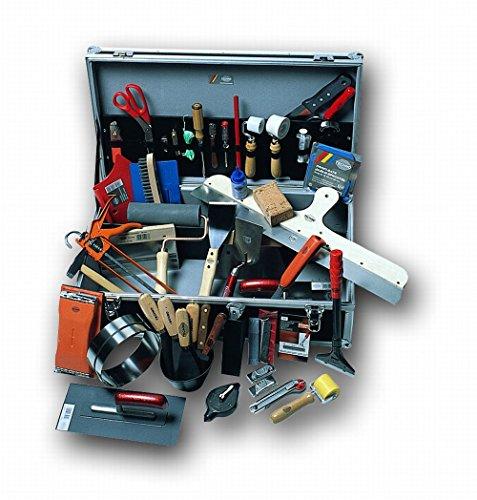 FRIESS Aluminium-Werkzeugkoffer PREMIUM 62,5cm x 35cm x 18,5cm, 49-tlg. bestückt