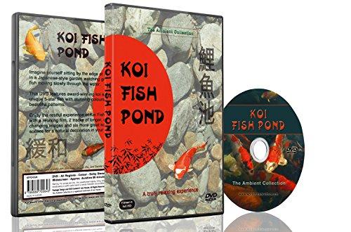 Entspannungs DVD - Koi-Teiche mit natürlichen Geräuschen von Wasser