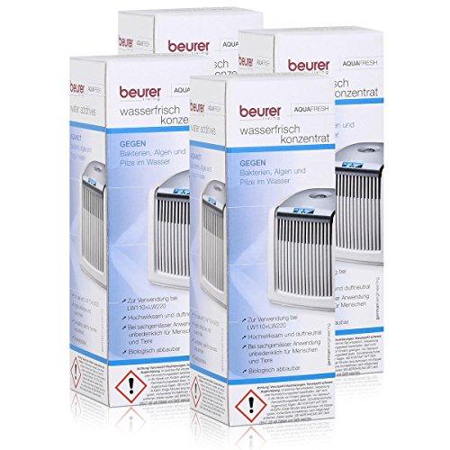 4x Beurer Aquafresh Wasserfrisch Konzentrat 200ml