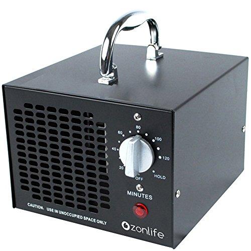 Generador De Ozono Profesional Perfecto Para Limpieza De Aire En El Coche, Desinfección De Cocina, Reducción De Formaldehído Para Baño, Etc. 3500Mg New