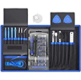 XOOL 80 in 1 Precision Set with Magnetic Driver Kit, Professional Electronics Repair Tool Kit with Portable Oxford Bag for Repair Cell Phone, iPhone, iPad, Watch, Tablet, PC, MacBook