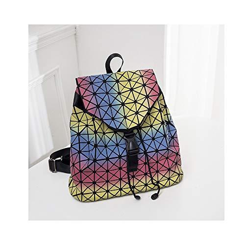 NFGHK Zaino da Viaggio antifurto Impermeabile per Laptop, Borsa per Laptop Casual per Uomo e Donna Nera,colour4