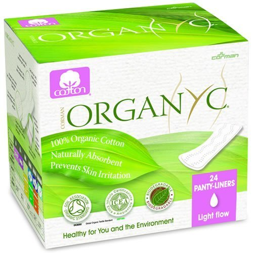 Organyc Pantyliners folded 100% organic cotton - PRAR00995 by Organyc