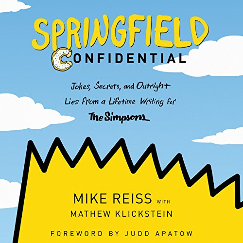 Springfield Confidential audiobook cover art