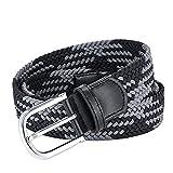 AGEA Elastic Stretch Woven Waist Belt for Men Women (31