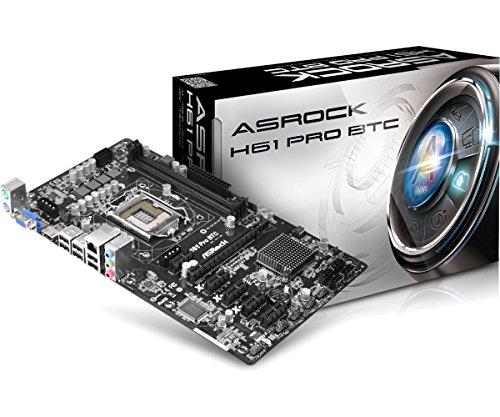 ASRock H61 Pro BTC - Placa Base (S1155 Intel H61 2DDR3/2+2USB3/ ATX)