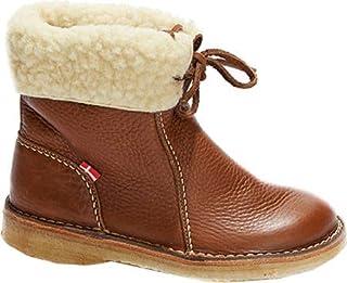 Duckfeet Arhus Unisex Wool-Lined Pebbled Leather Boot