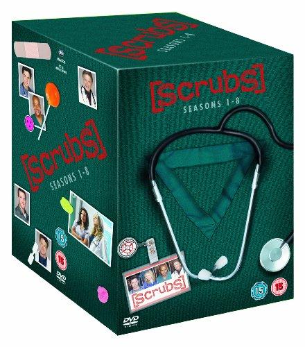 Scrubs - Seasons 1 - 8 [Edizione: Regno Unito]
