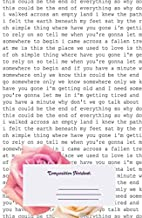 Composition Notebook: Somewhere Only We Know Lyric Ft The Roses Ruled School Office Home Student Teacher 100 Pages