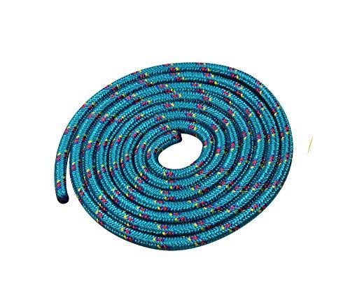 Vinex Seilspringen - Springseil 3 Meter - schönes Muster - grün
