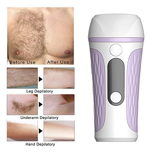 Mini IPL Photorejuvenation Haarentfernungsmaschine Epilierer, Bikini Trimmer Elektrischer Laser Haarentferner, für Körper, Unterarme, Beine und Intimteile