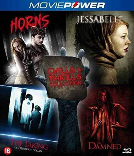 Chills & Thrills Collection 1 - 4-Disc Set ( Horns / Jessabelle / The Taking of Deborah Logan / Gallows Hill ) [ Holländische Import ] (Blu-Ray)