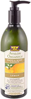 Avalon Organics Lemon Hand and Body Lotion