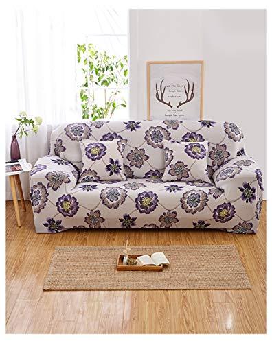 DaiHan All-Inclusive-Universal-Ärmel elastischen Stoff Vollbezug Sofakissen Sofa Handtuch Sofakissen AsPic31 3Seat(190-230cm)