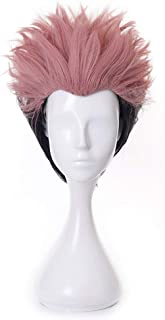 Anime Cosplay Wig, Jujutsu Kaisen Wig, with Free Wig Cap, for Halloween, Party, Carnival, Nightlife, Concerts, Weddings (Y...