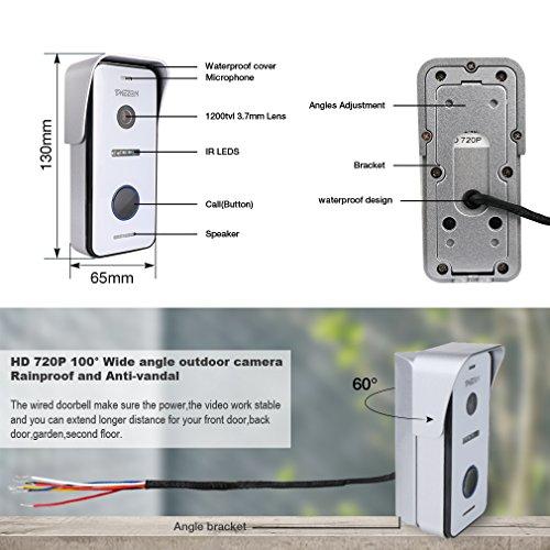 TMEZON MZ-IP-V103W/MZ-VDP-NA100/1M1C/EU