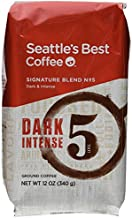 Seattle's Best Level 5 Post Alley Blend, Dark Ground Coffee, 12 Ounce (Pack of 6)