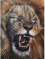大人のジグソーパズル1000ピース動物のとどろくライオン大人の木製ジグソーパズルゲームユースパズルゲームおもちゃのギフト
