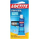 Loctite 1716815 1-Ounce Tube Stik 'n Seal Outdoor Adhesive,Clear,0.556 CDM