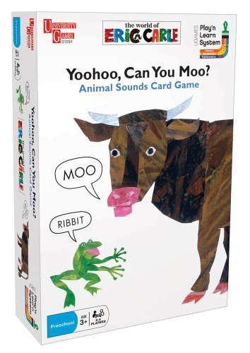 Yoohoo, Can you Moo? Card Game by University Games
