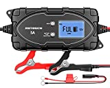 AUTOGEN 6V/12V Car Battery Charger and Maintainer 5-Amp Smart Automatic Trickle Charging with LCD Display Pulse Repair for Car,Motorcycle,Lawn Mower,Boat RV,SUV,ATV,Sealed Lead Acid Lithium Batteries