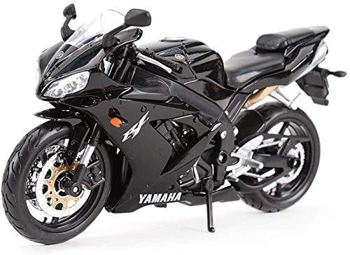 CYHT Modelo de Juguete Juguete Motocicleta Modelo Simulación Locomotora 1/12 Juguete, Mejor Regalo