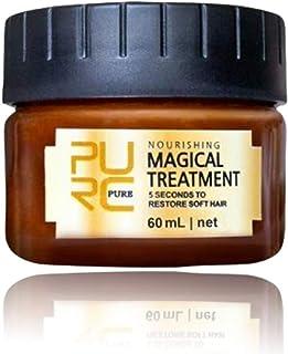 PURC 5 Seconds Treament Hair Mask, Argan Oil & Keratin Complex Hydrating Professtional Repair Hair Conditioner, Deep Retor...