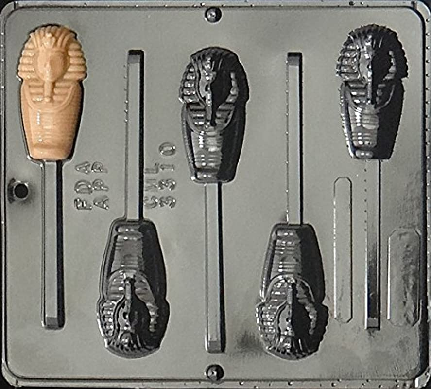 Egyptian Mummy Lollipop Chocolate Candy Mold 3310