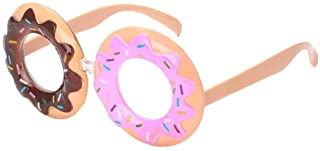 Novelty Glasses Funny Party Sunglasses Costume Photo Props for Kids Adults - Doughnut