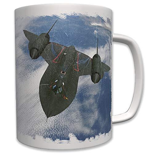 Sr71 Blackbird Sr 71 Flugzeug Mach 3 Aufklärungsflugzeug Us Air - Tasse #6425