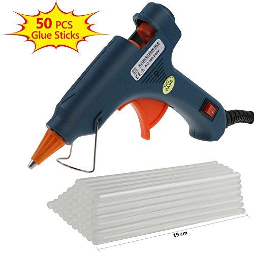 Amazon.com - Philonext Hot Melt Glue Gun with 50 Pcs 190mm Glue Sticks