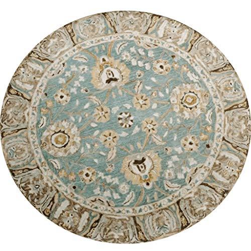 DLT Türkischer Teppich, Vintage Oushak Teppich, Schlafzimmer Teppich, Retro Tribal Teppich, osmanischen Teppich, Vintage Boden Teppich, indische Baumwolle Teppich (größe : 60cmx60cm)