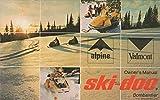VINTAGE 1971 SKI-DOO SNOWMOBILE ALPINE & VALMONT OWNER'S MANUAL (741)