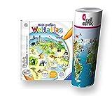 Ravensburger tiptoi ® Atlas / Buch | Mein großer Weltatlas + Kinder Weltkarte - Länder, Tiere, Kontinente
