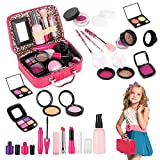 Tuptoel Pretend Makeup for Girls, Kids Make Up Kit for Girl Play Make Up for Toddler Girls - Birthday Toys for Girls Age 3 4 5 6+