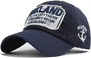 VIIMON Adjustable Cotton Snapback Baseball Caps Hats for Men Skull Embroidery Casquette Fashion Sport Women Bone Men Hat Gorras Male Caps Color : Navy