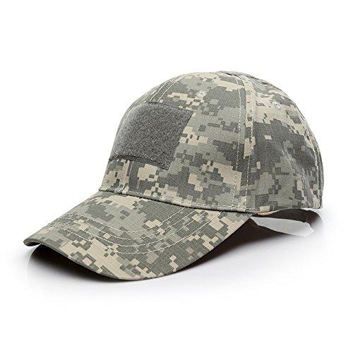Sombrero Multicolor al Aire Libre del Sombrero de la Protección Solar para el acampamento Táctico de la Subida del Paintball de Airsoft