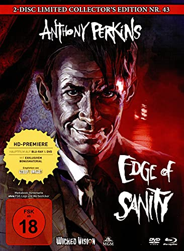 Edge of Sanity - Mediabook - Cover C - 2-Disc Limited Collector's Edition Nr. 43 - Limitiert auf 333 [Blu-ray]