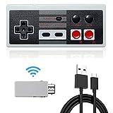 Wireless NES Mini Classic Rechargeable Controller,NES Wireless Gamepad For Nintendo Mini NES Classic Edition, Wireless Joypad & Gamepads Controller (1 pack)