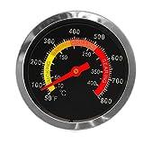 Cuigu Thermomètre de Cuisson Température Thermomètre pour Cuisine Barbecue BBQ d'acier Inoxydable 10-400 ℃