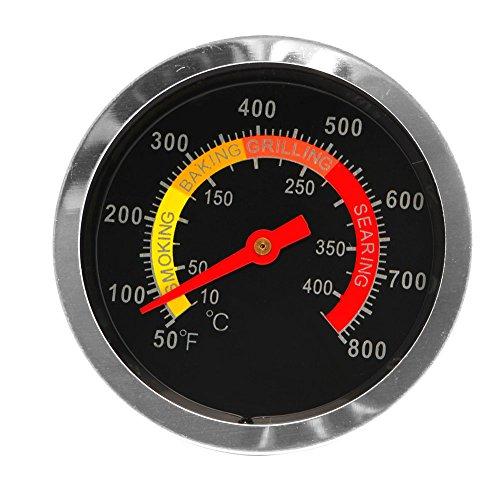 Tinaa ThermometerBarbecue ThermometerGartenEdelstahl für alle Grills, Smoker,Grillzubehör(50 ℃ bis 350 ℃)