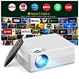 Best Android Projectors - Projector Android 9.0, Smart Projector WiFi Bluetooth Outdoor Review