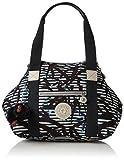 Kipling - Art Mini, Bolsos maletín Mujer, Mehrfarbig (Bamboo Stripes), 34x21x18.5 cm (B x...