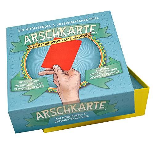 Partyspiel Arschkarte