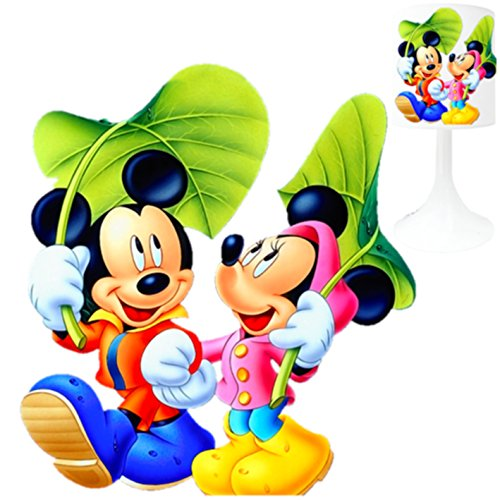 LAMPE DE CHEVET ENFANT MICKEY MINNIE 1 .MADE IN FRANCE